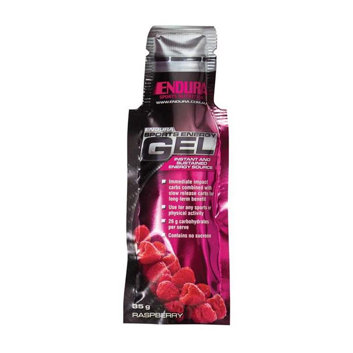 Endura Sports Energy Gel (Raspberry) 35g X 20