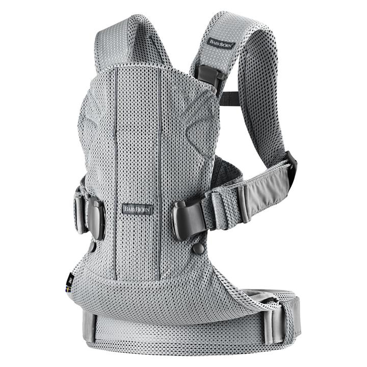 BabyBjorn Baby Carrier One Air – Silver 3D Mesh