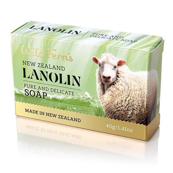 Wild Ferns Lanolin Soap 40g