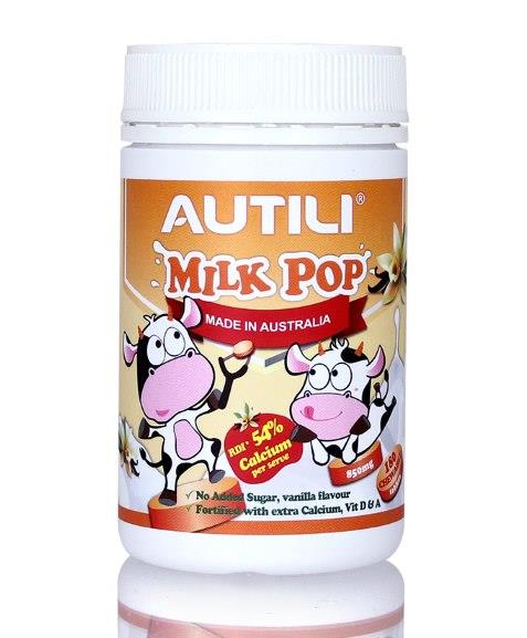 Autili Milk Pop Chewable Tab (Vanilla) X 180