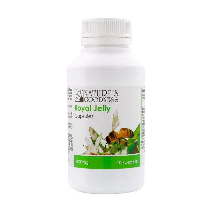 Nature's Goodness Royal Jelly 1000mg Cap X 100