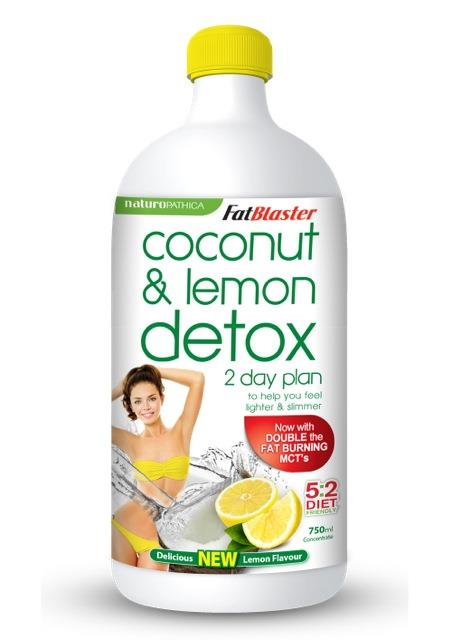 FatBlaster Coconut & Lemon Detox 2 Day Plan 750ml