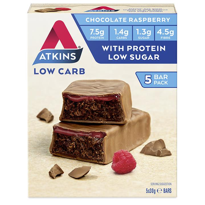 Atkins Advantage Bar (Choc Raspberry) 30g X 5