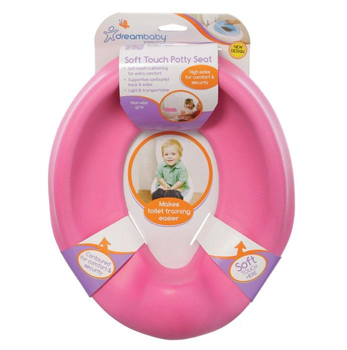 Dream Baby Soft Touch Potty Seat (Pink)