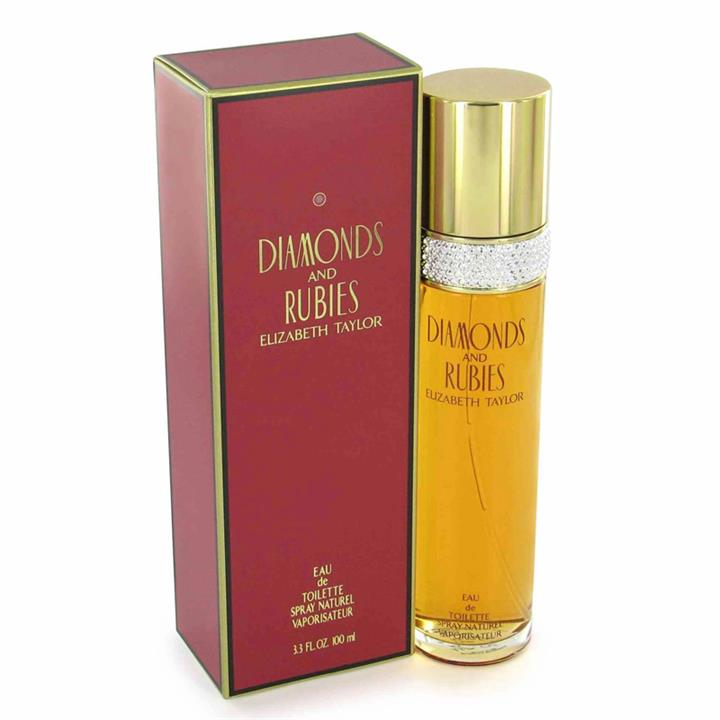 Diamonds And Rubies by Elizabeth Taylor (Women) EDT 100ML