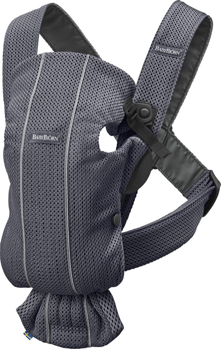BabyBjorn Baby Carrier Mini – Anthracite 3D Mesh