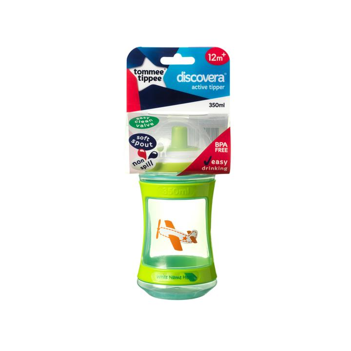 Tommee Tippee Discovera Active Tipper Cup 350ml (Assorted Designs/Colours)