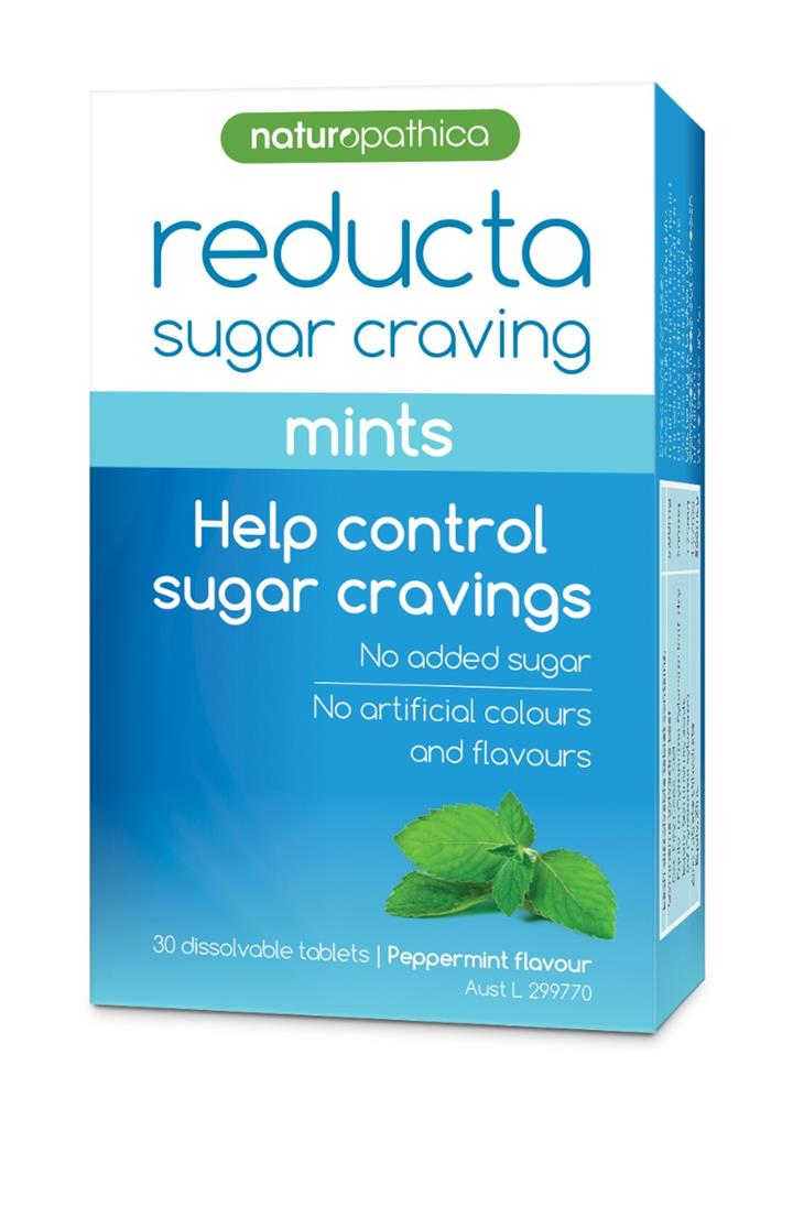 Naturopathica Reducta Sugar Craving Mints Tab X 30