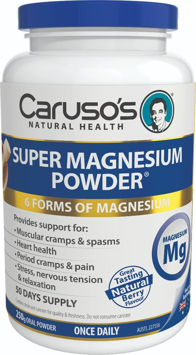 Caruso's Natural Health Super Magnesium Powder 250g