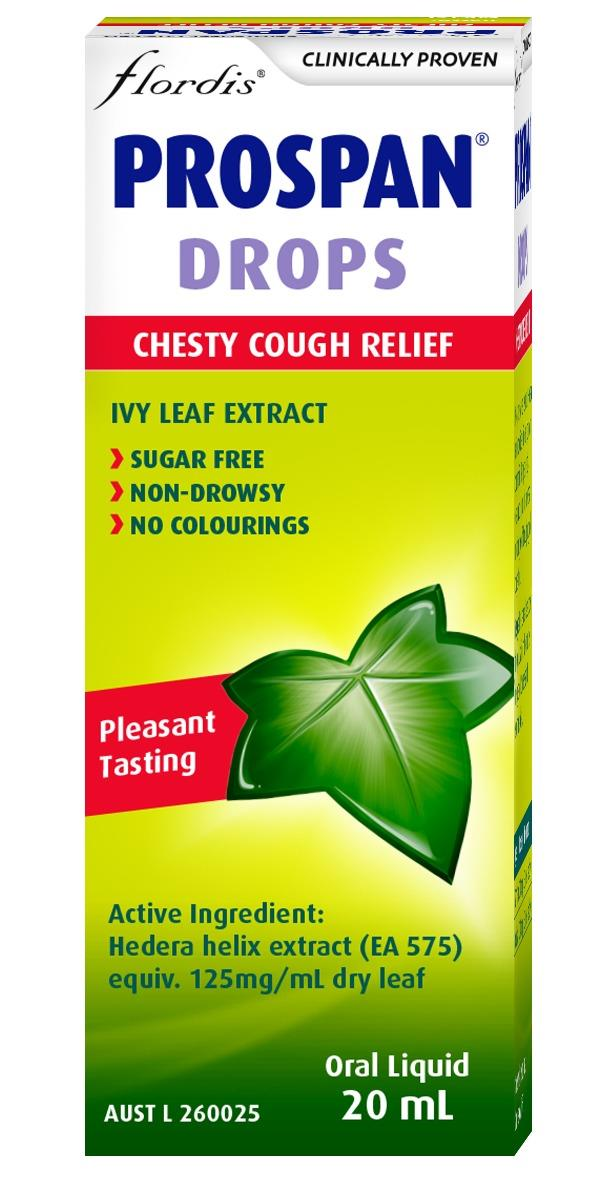 Flordis Prospan Chesty Cough Relief Drops (Ivy Leaf) 20ml