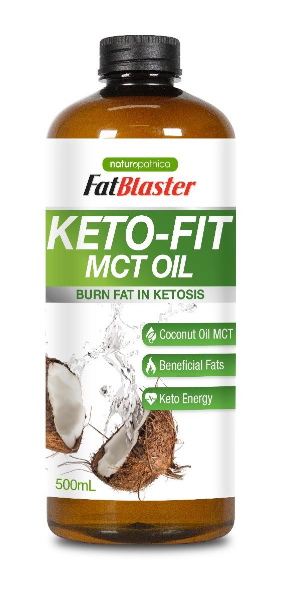 FatBlaster Keto-Fit MCT Oil 500ml