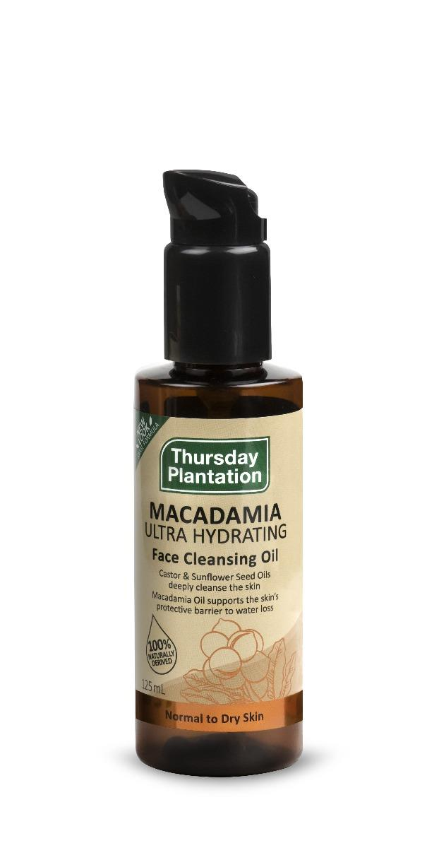 Thursday Plantation Macadamia Ultra Hydrating Face Cleansing Oil 125ml