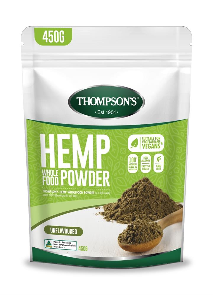 Thompson's Hemp Wholefood Powder 450g