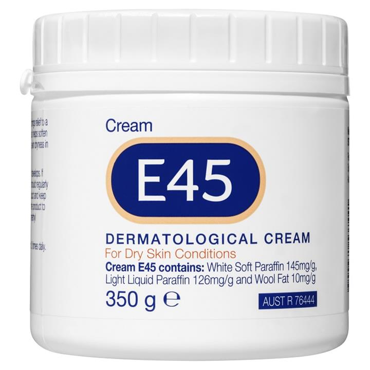 E45 Dermatological Cream for Dry Skin Conditions 350g