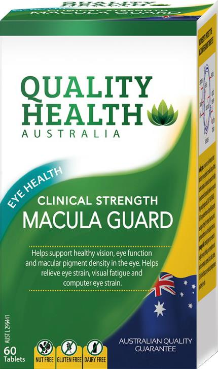 Quality Health Clinical Strength Macula Guard Tab X 60