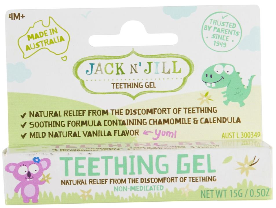 Jack N' Jill Teething Gel 15g
