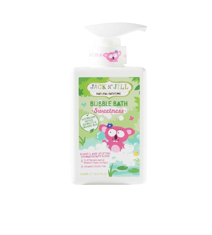 Jack N' Jill Sweetness Bubble Bath 300ml