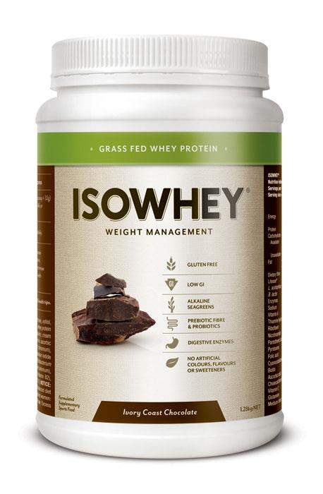 IsoWhey Complete Weight Loss – Ivory Coast Chocolate 1.28kg