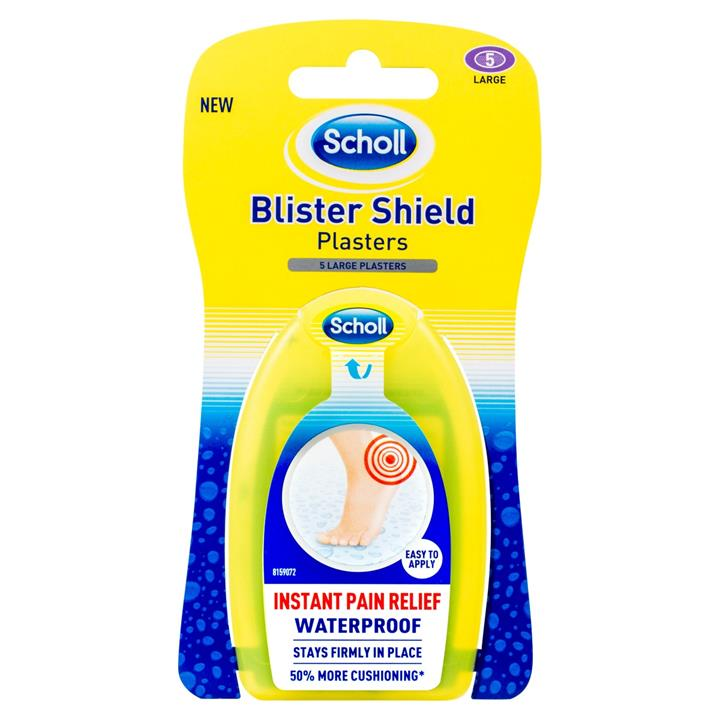 Scholl Blister Shield Plasters (Large) X 5