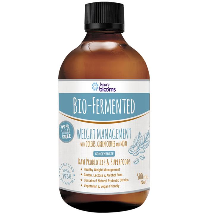 Henry Blooms Bio-Fermented Weight Management 500ml