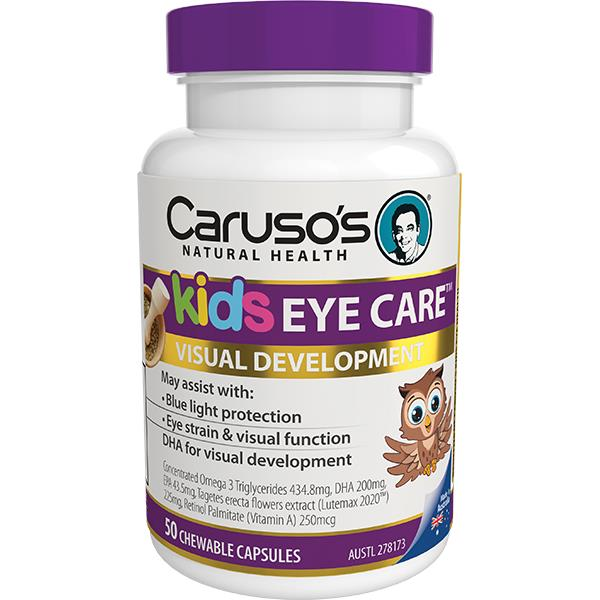 Caruso's Natural Health Kids Eye Care Chewable Cap X 50