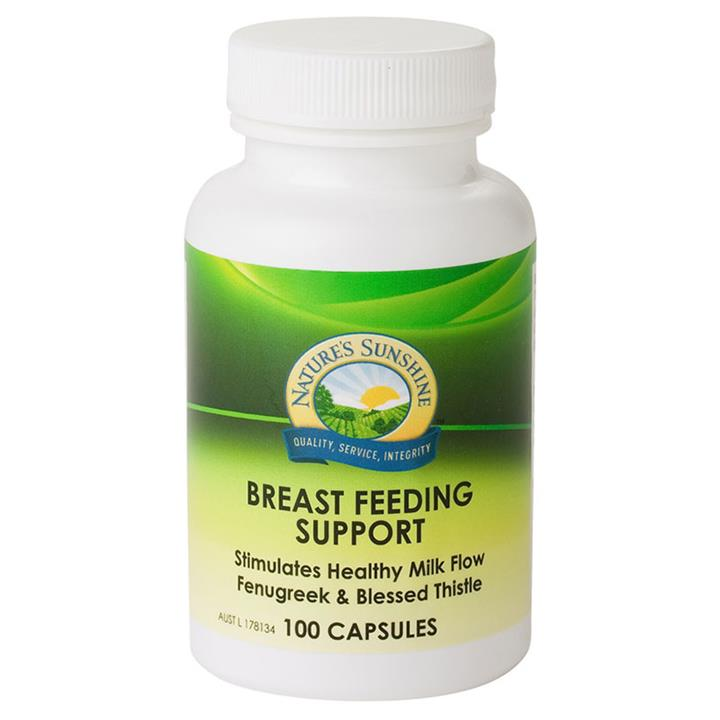 Nature's Sunshine Breast Feeding Support Cap X 100