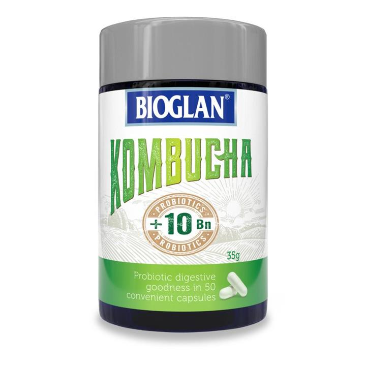 Bioglan Kombucha + Probiotics 10 Billion Cap X 50
