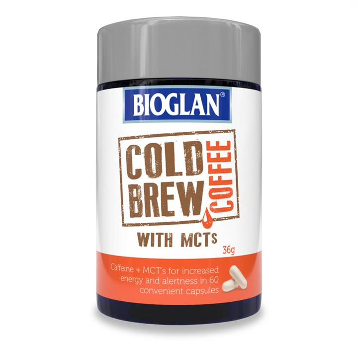 Bioglan Cold Brew Coffee with MCTs Cap X 60