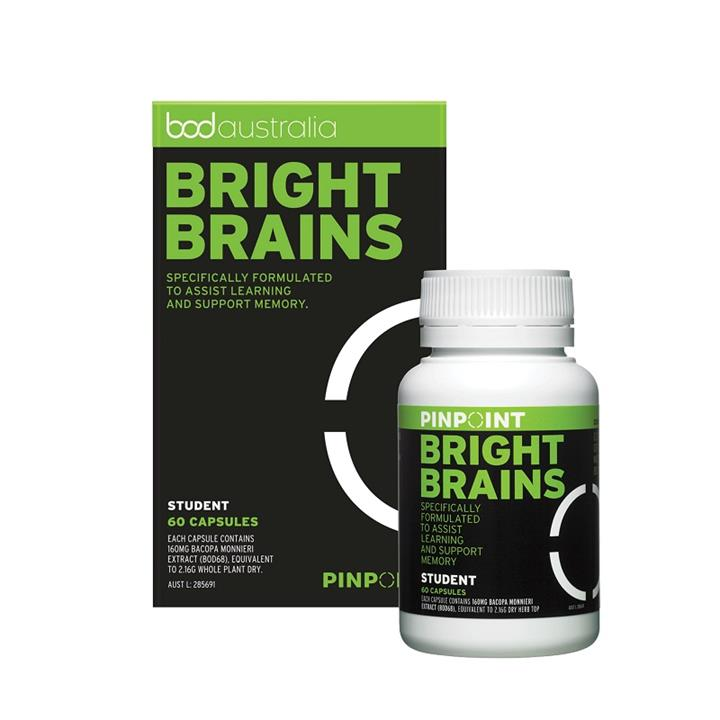 Pinpoint Bright Brains Cap X 60