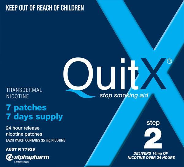 Quitx Patches 14mg X 7
