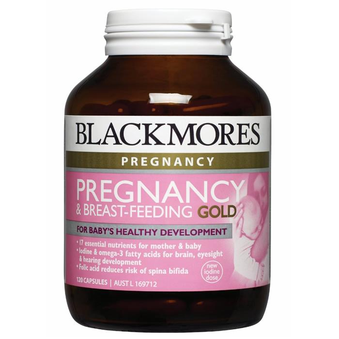 Blackmores Pregnancy & Breast-Feeding Gold Cap X 60