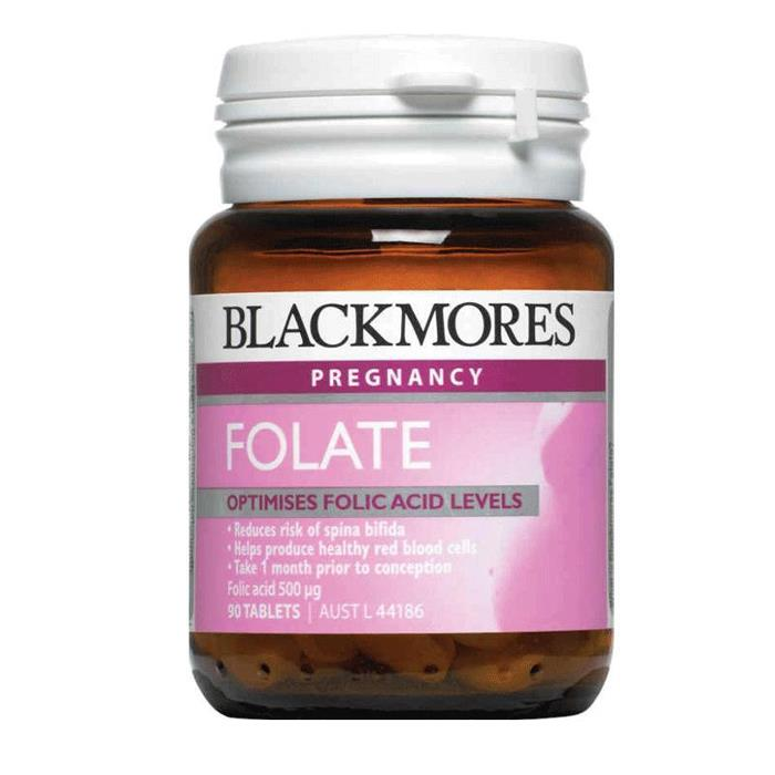 Blackmores Folate Folic Acid 500mcg Tab X 90