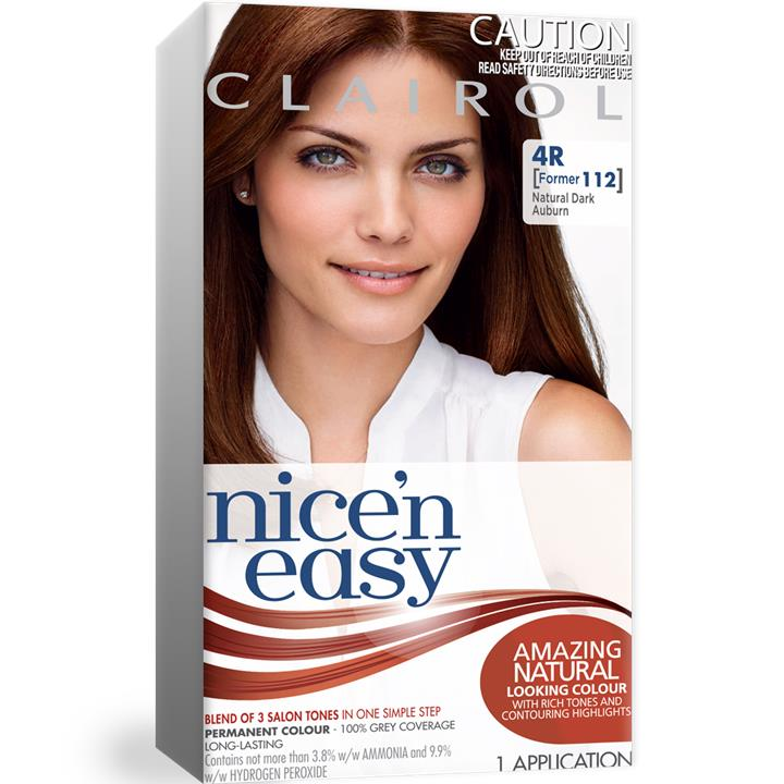 Clairol Nice And Easy 112 Dark Auburn