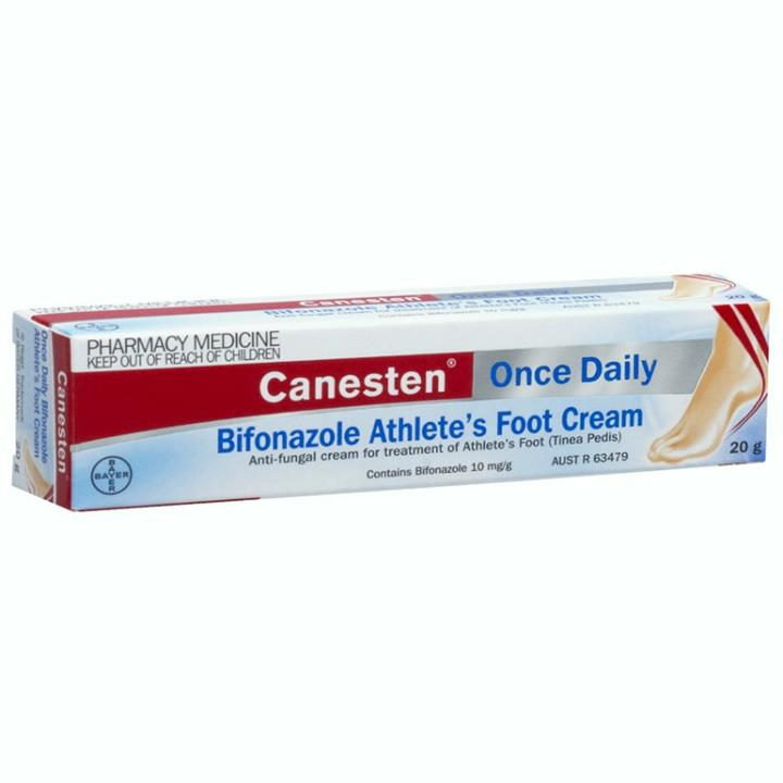 Canesten Once Daily Athlete's Foot Cream 20g
