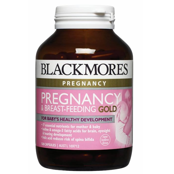 Blackmores Pregnancy & Breast-Feeding Gold Cap X 120