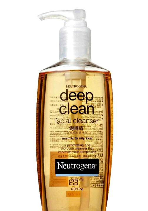 Neutrogena Deep Clean Facial Cleanser Normal To Oily 200ml
