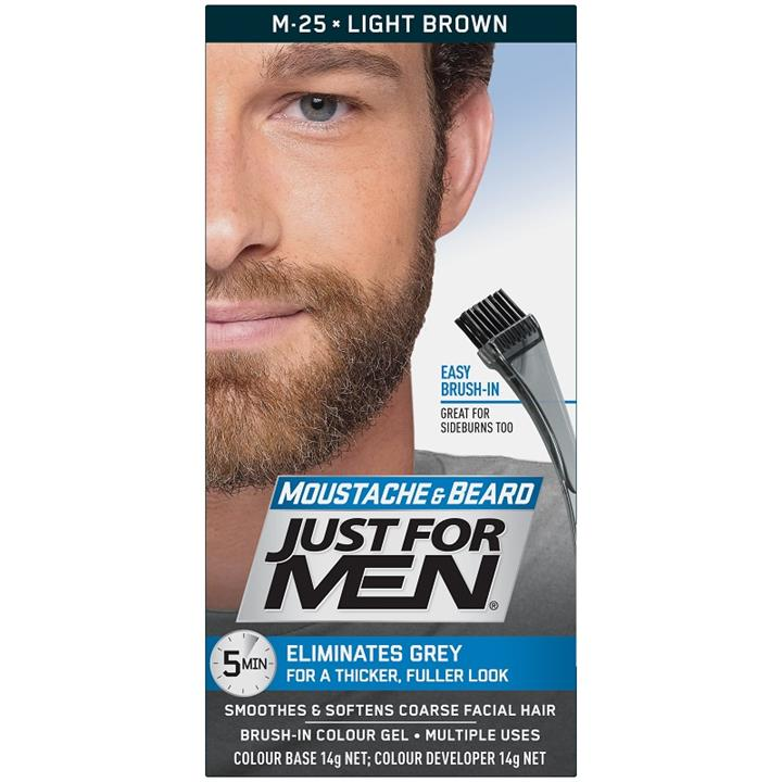 Just For Men Moustache And Beard (Light Brown)