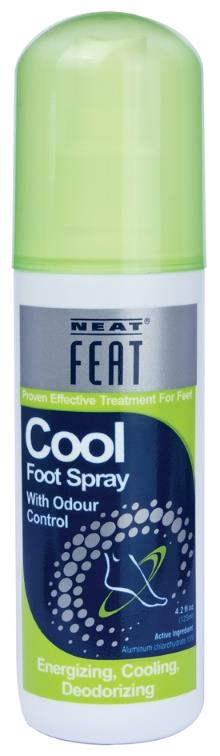 Neat Feat Cool Foot Spray 125ml