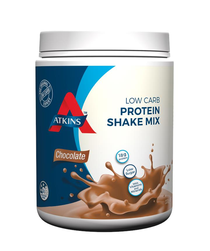 Atkins Protein Shake Mix Chocolate 330g