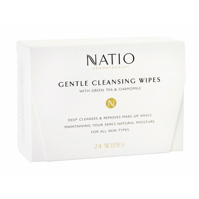 Natio Gentle Cleansing Wipes X 24