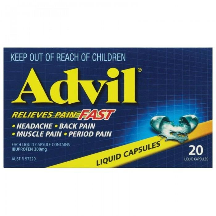 Advil Liquid Cap X 20