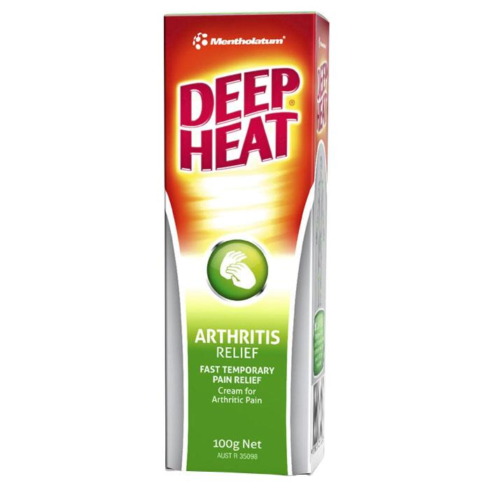 Deep Heat Arthritis Cream 100g