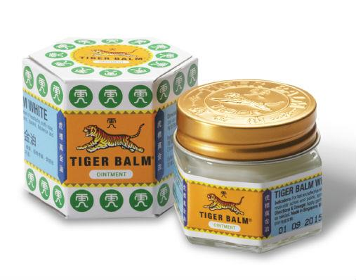 Tiger Balm Ointment Regular Strength White 18g