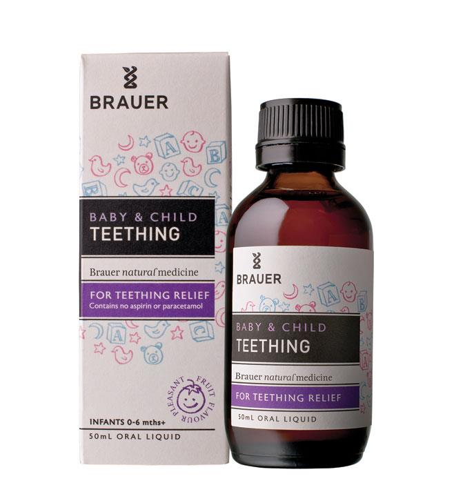 Brauer Baby Care Teething Relief 50ml