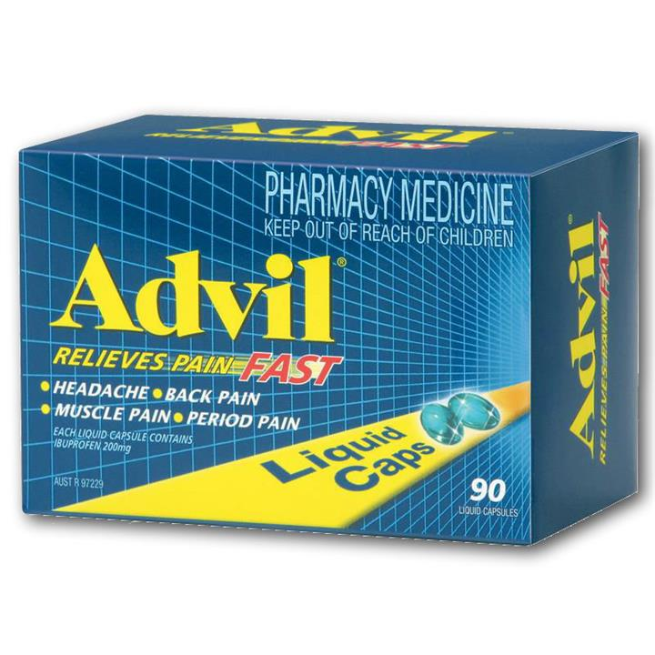 Advil Liquid Cap X 90