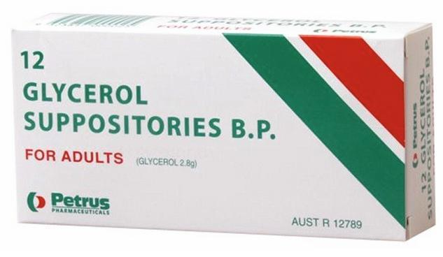 Petrus Glycerol Suppositories For Adults X 12