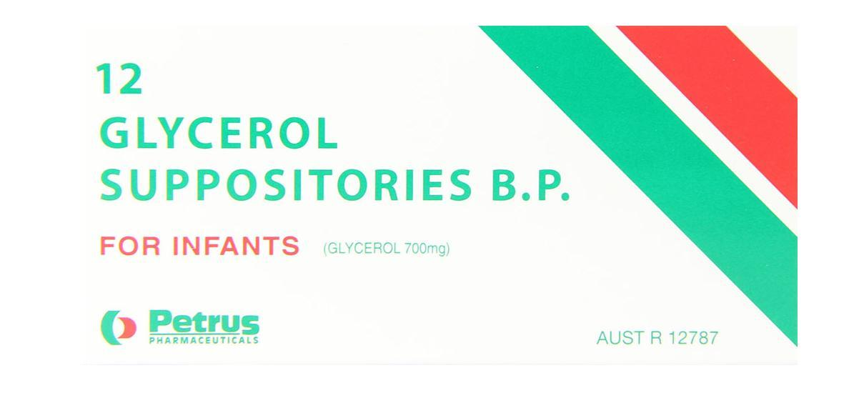 Petrus Glycerol Suppositories for Infants X 12