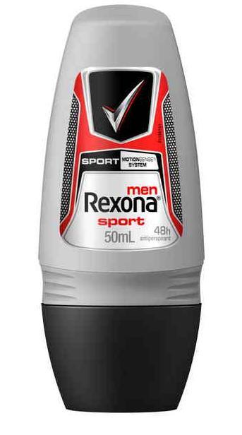 Rexona Anti-Perspirant Deodorant Roll On For Men Sport 50ml