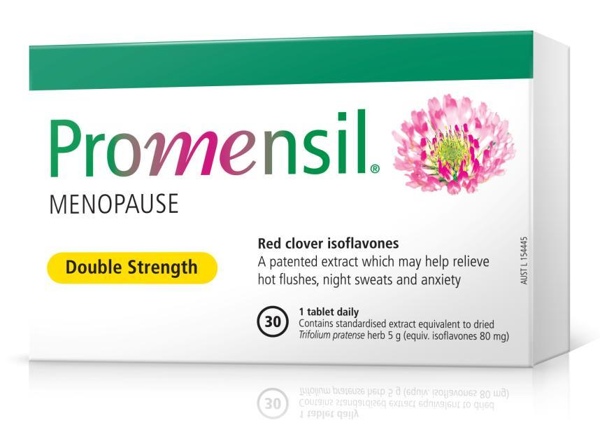 Promensil Menopause Double Strength Tab X 30