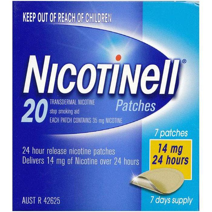 Nicotinell Patch Step 2 Patches 14mg X 7